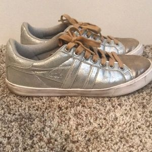 Gola metallic sneakers